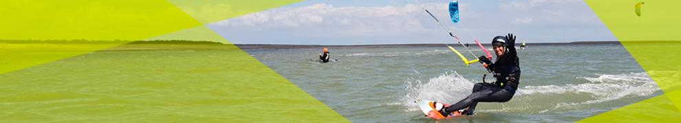 Navigation surveillée kitesurf Noirmoutier