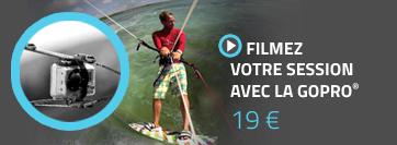 Filmez votre session de kitesurf avec la GOPRO