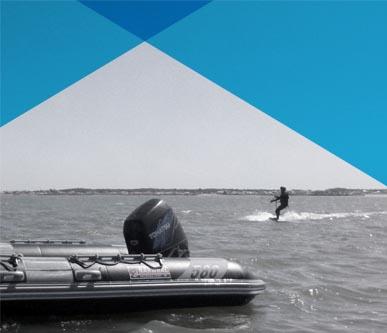 Navigation surveillée de Kitesurf à Noirmoutier / Fromentine / Vendée