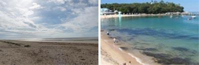 Les plages de l'île de Noirmoutier