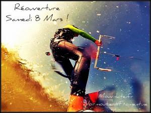 Réouverture de l'école de kitesurf Noirmoutier / Fromentine 8 mars 2014