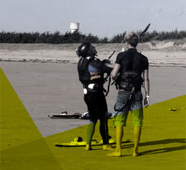 Stage kitesurf Noirmoutier / Fromentine / Vendée