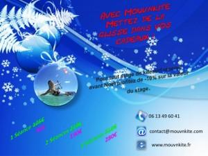 Cadeau kitesurf école Noirmoutier / Fromentine / Vendée