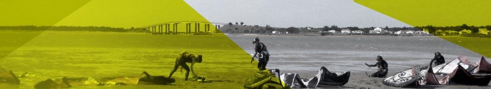 Spots kitesurf Noirmoutier / Fromentine / Vendée