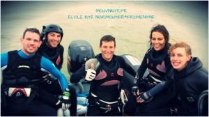 Vidéo kitesurf vacances toussaint 2013