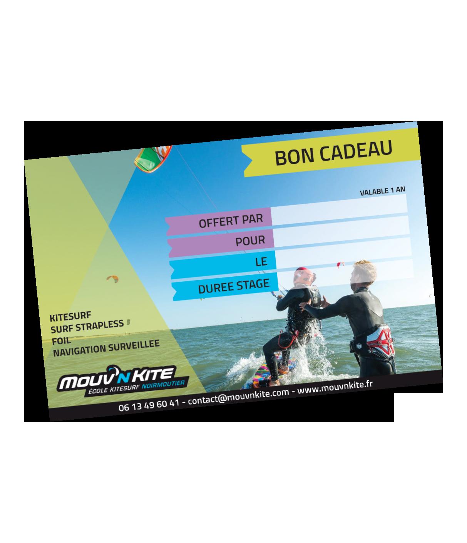 Offrir un stage de kitesurf à Noirmoutier / Fromentine / Vendée