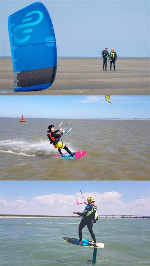 Tarifs cours particuliers de kitesurf Noirmoutier / Fromentine / Vendée
