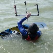 1er cours kitesurf 2012 / Noirmoutier / Fromentine / Vendée