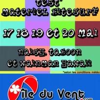 Test matériel Kitesurf Vendée