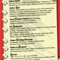 Check-liste sécurité kitesurf sur les procédures de secours en mer. La bonne conduite à tenir et les bons numéros d'urgence pour déclancher les secours : http://kite.ffvl.fr/sites/kite.ffvl.fr/files/BSK6.pdf Julien Ecole de kitesurf FFVL
