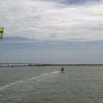 Week-end kitesurf venté à Pâques 2012 à Noirmoutier / Fromentine / Vendée