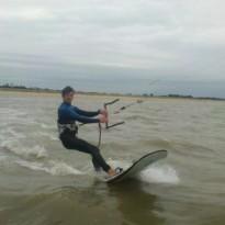 Maxime Babonneau compétiteur kitesurf Noirmoutier / Fromentine / Vendée