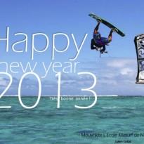 Bonne année 2013 école kitesurf Noirmoutier / Fromentine / Vendée